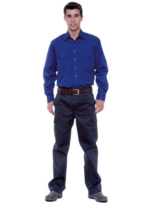 Camisa manga larga 100% algodón valento mod. condor