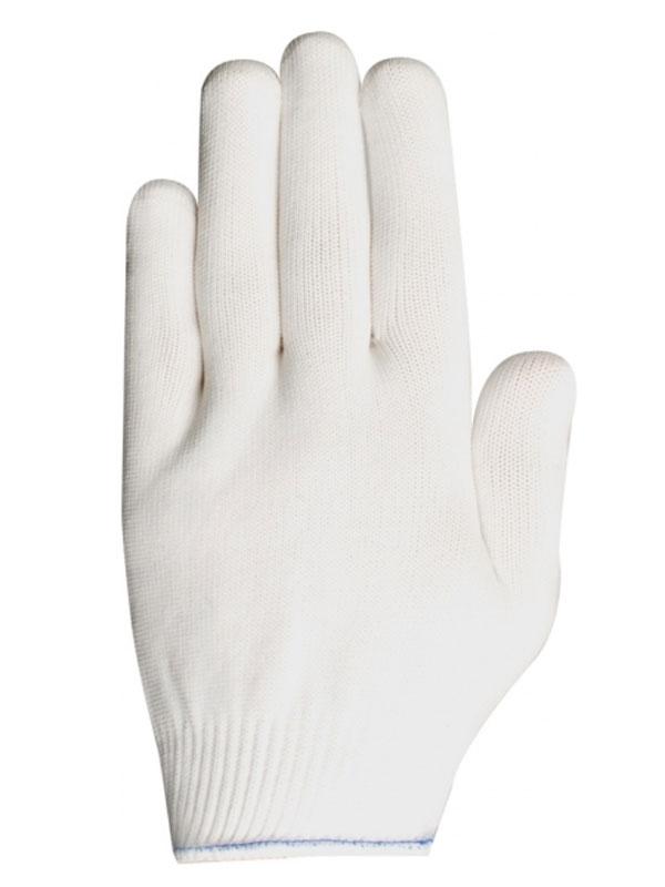 Guante de poliester blanco cat.1
