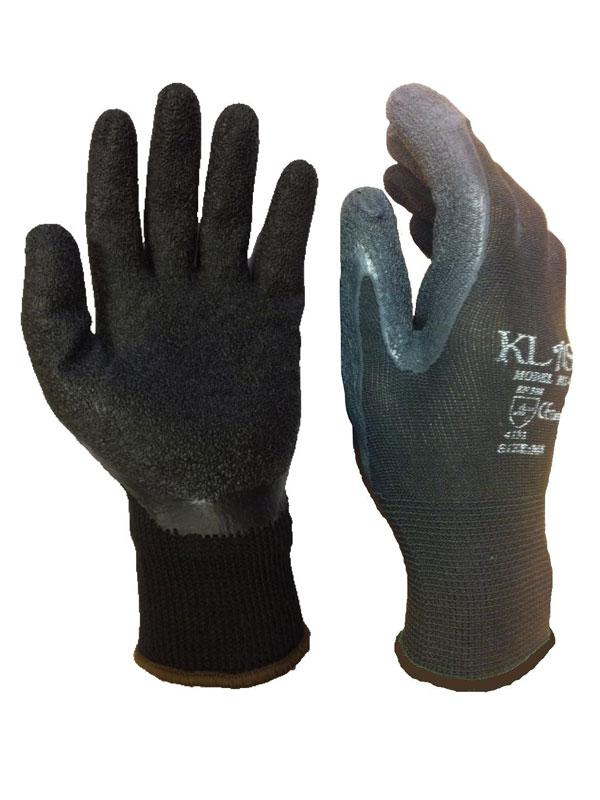 Guante latex  black grip en388 2243