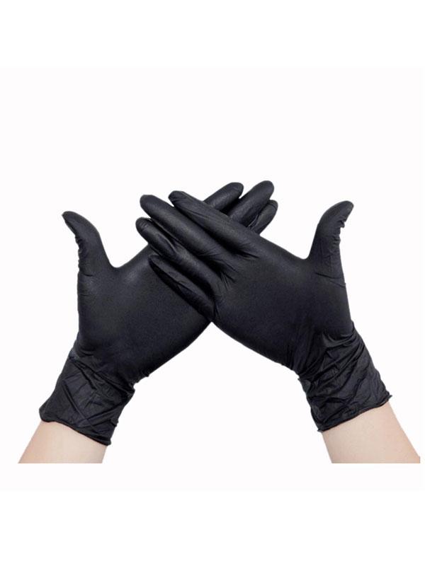 GUANTE DESECHABLE NITRILO GENTLE TOUCH PRO BLACK  5.0GR