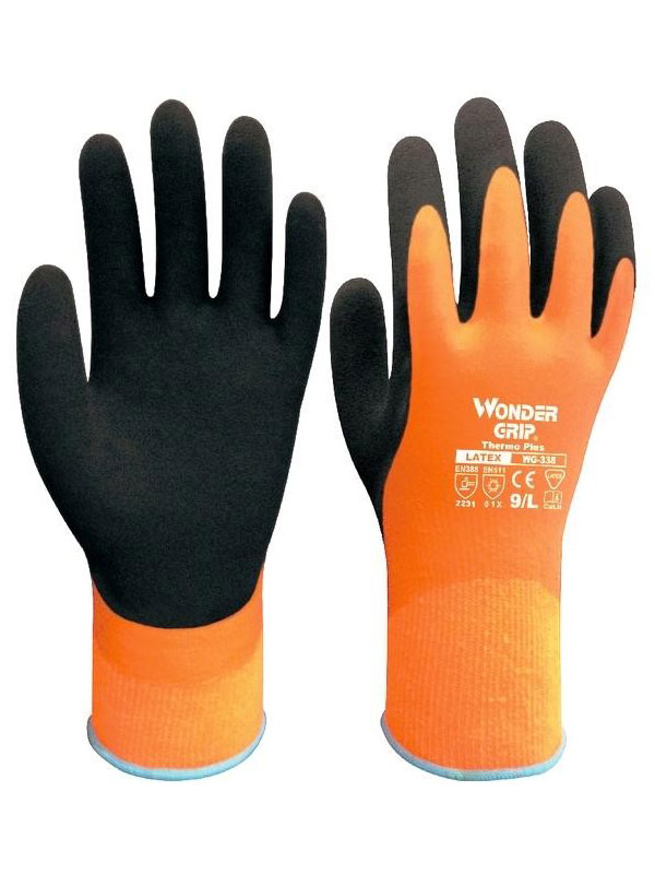 Guante latex wonder grip modelo wg-338 termo plus