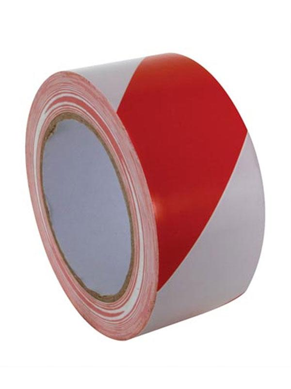 Rollo de 250 m. cinta señalizacion roja blanca (galga 200) 4072.099