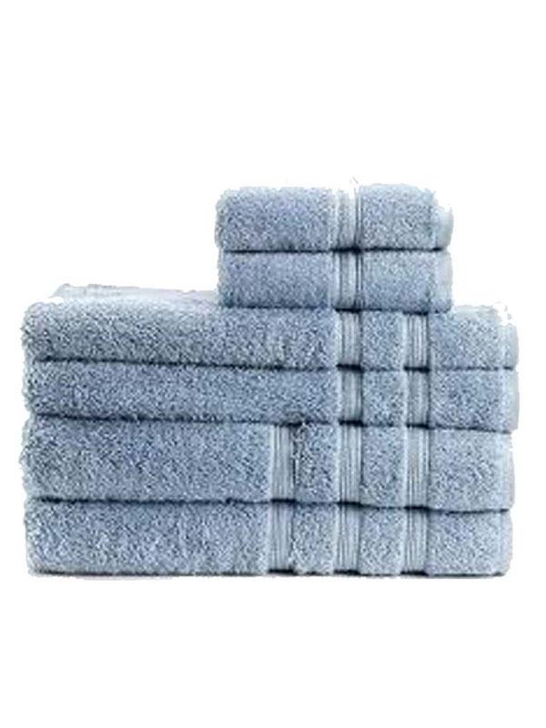 Toalla de lavabo azul celeste 50 x 100
