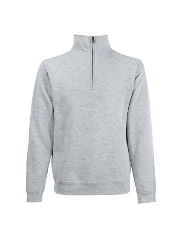 SUDADERA MEDIA CREMALLERA FRUIT MOD. CLASSIC ZIP NECK SWEAT REF. 621140