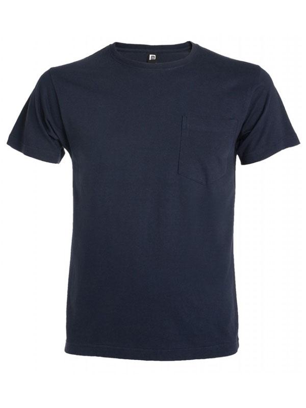 Camiseta roly manga corta con bolsillo teckel 6523
