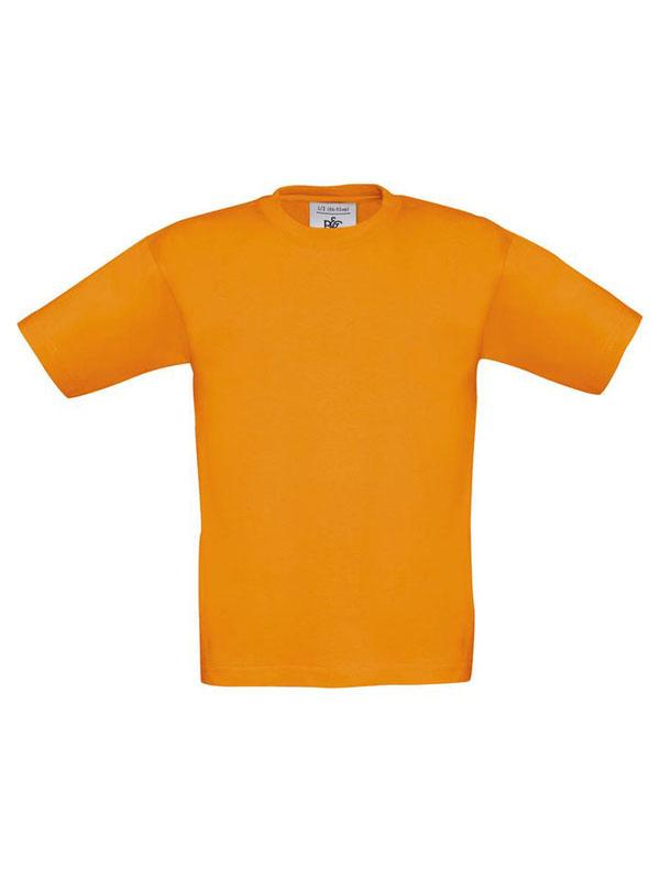 Camiseta cuello redondo m/c sin bolsillo niño b&c mod. bctk300