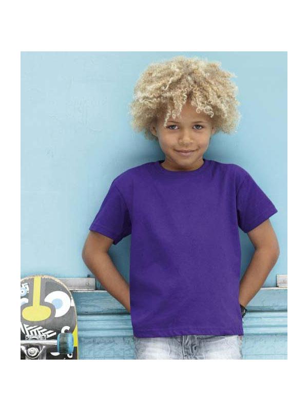 Camiseta cuello redondo m/c sin bolsillo niño fruit mod. fr610330