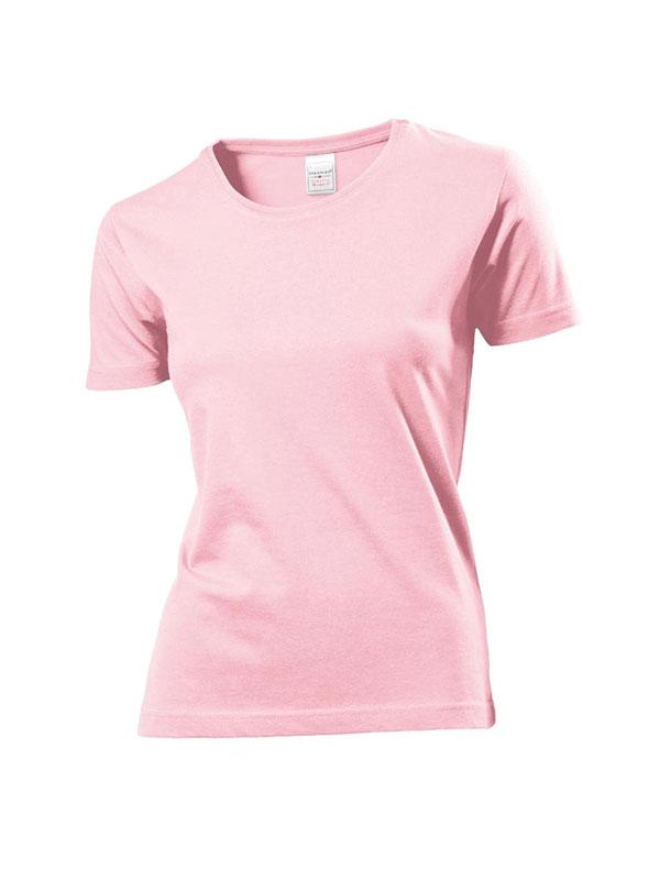 Camiseta cuello redondo m/c sin bolsillo mujer stedman mod. st2600