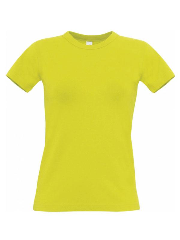 Camiseta cuello redondo m/c sin bolsillo mujer b&c #e190 mod. bctw04t