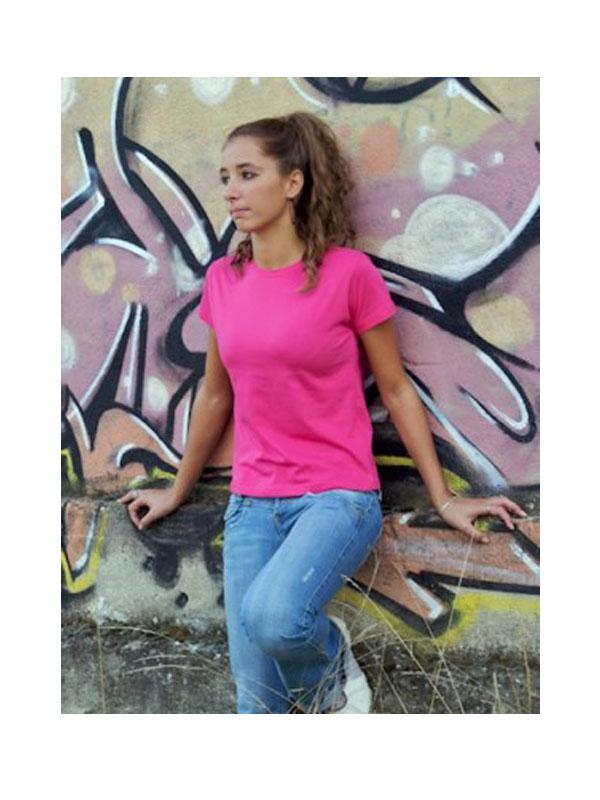 Camiseta cuello redondo m/c sin bolsillo mujer baizinca mod. bkw107