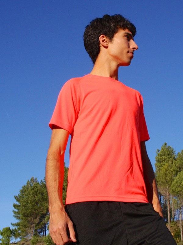 Camiseta técnica manga corta  hombre sport basic mod. bks072
