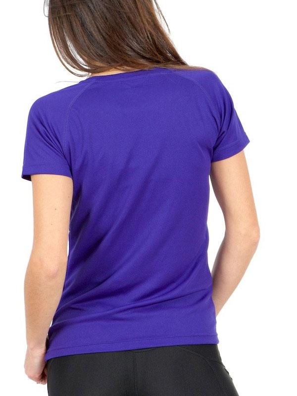 Camiseta técnica manga corta mujer sport basic mod. bks073