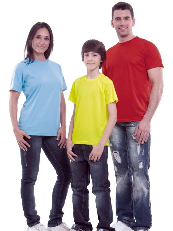 Camiseta técnica m/c niño valento mod. resistance
