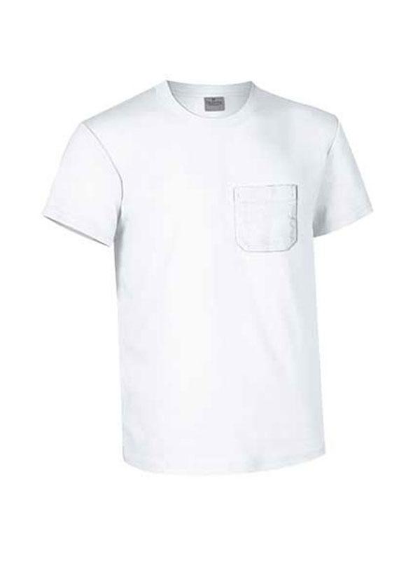 Camiseta cuello redondo m/c con bolsillo hombre valento mod. eagle