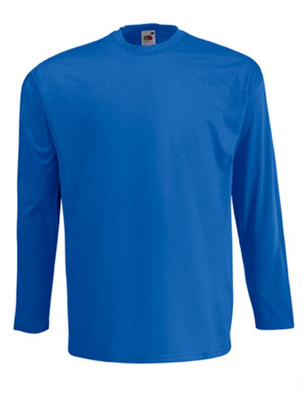 Camiseta cuello redondo m/l s/b sin puño fruit mod. fr610380