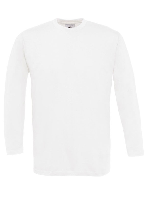 Camiseta cuello redondo m/l s/b sin puño b&c mod. bctu003