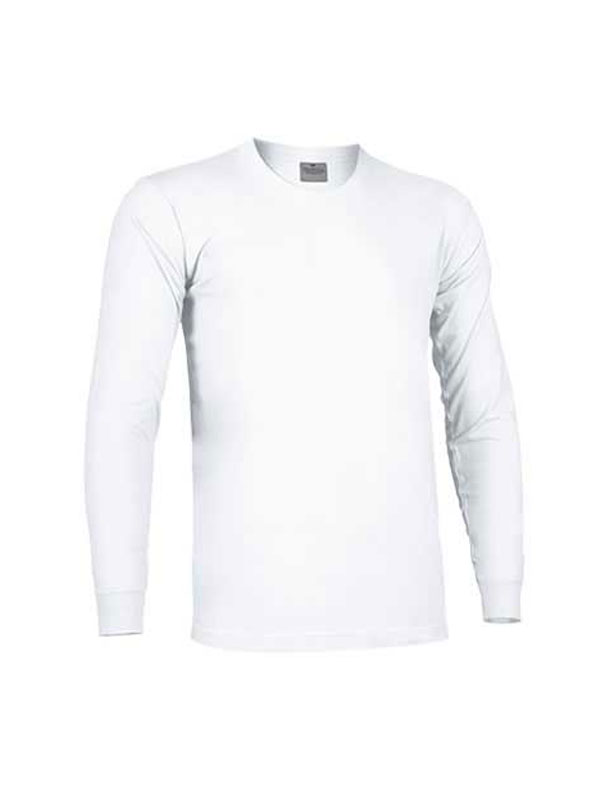 Camiseta cuello redondo manga larga sin bolsillo y con puño valento mod. arrow