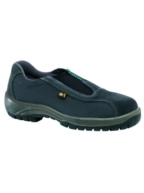 Zapato de seguridad modelo hagos sin cordones