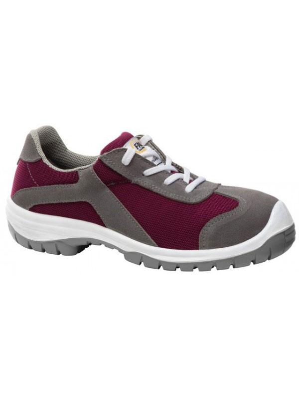 Zapato de seguridad mujer modelo trail color malva 231306