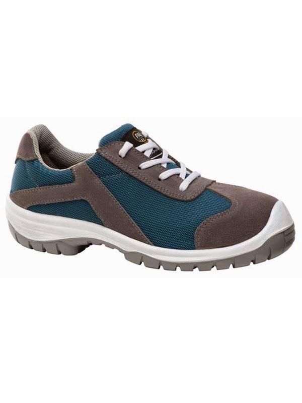 Zapato de seguridad mujer modelo trail color azul