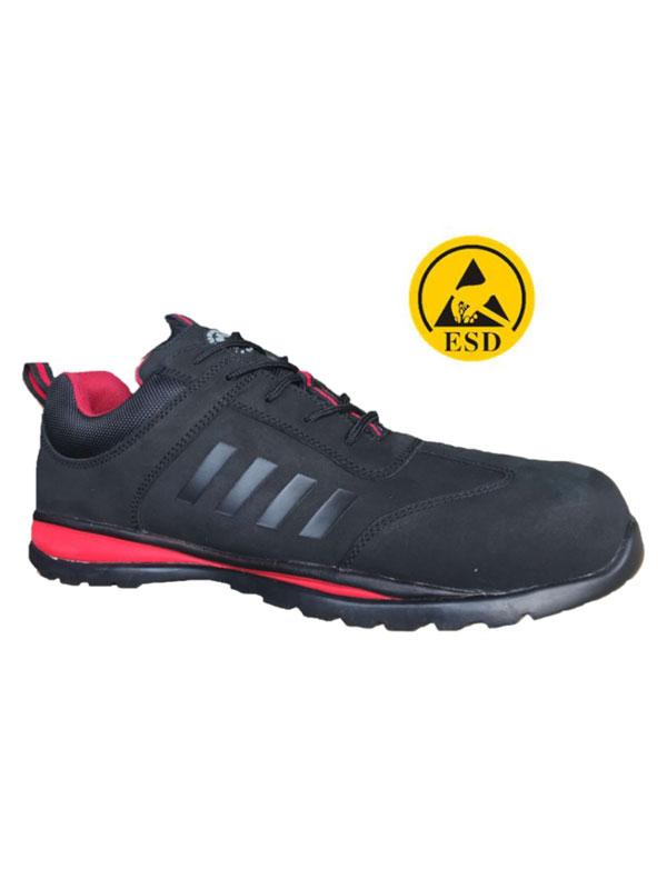 Zapato negro sport plus mod.bora s3