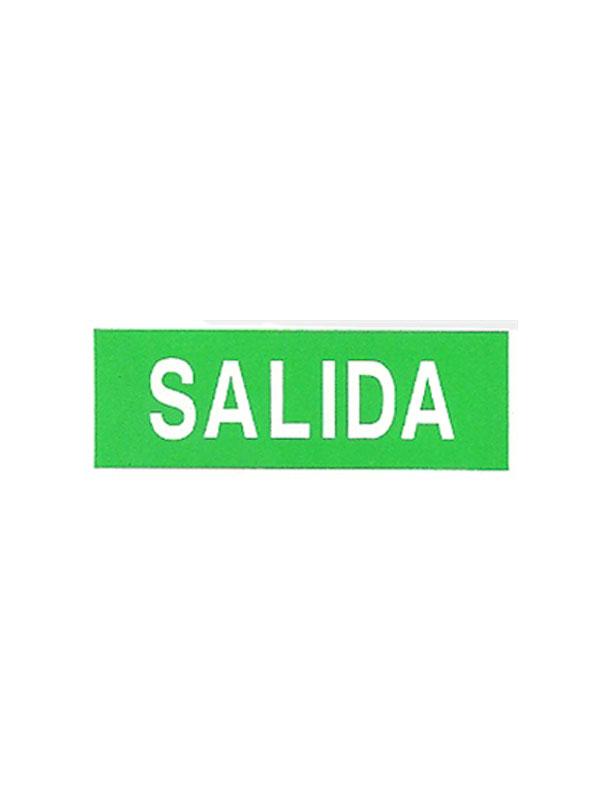SEÑAL LUMINISCENTE SALIDA REF. ESH 723 DE 297X105
