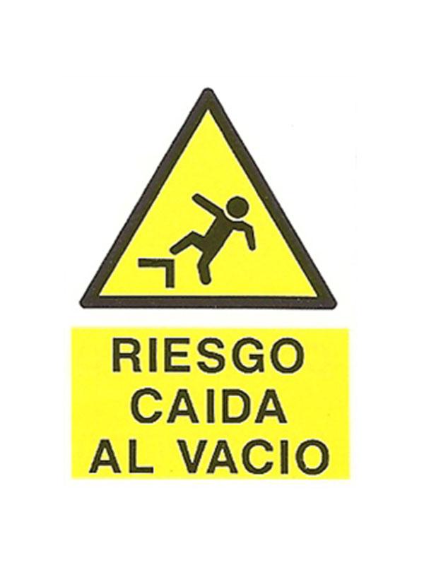 SEÑAL PELIGRO CAÍDA AL VACÍO REF. APR 407 DE 330X500
