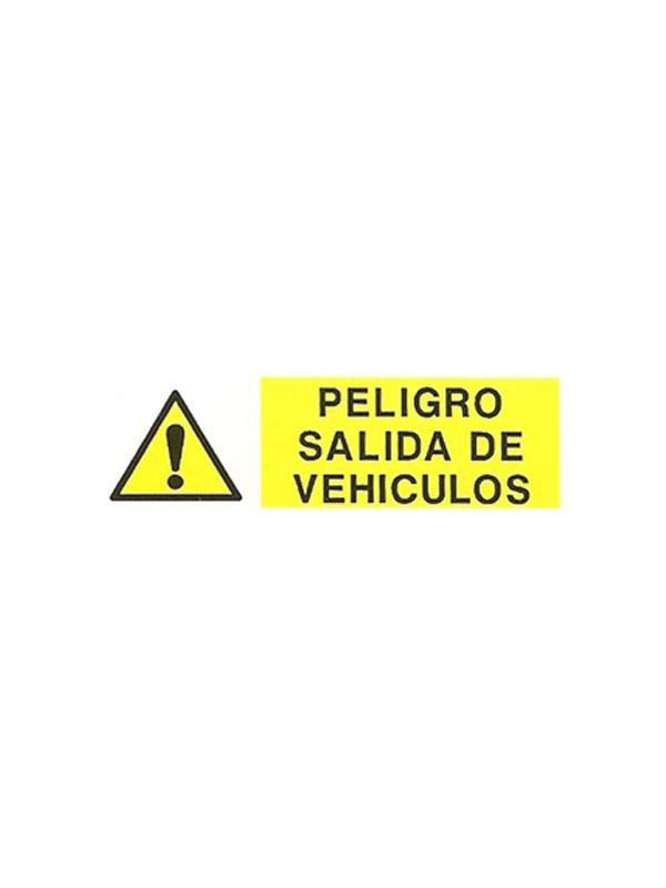 SEÑAL PELIGRO SALIDA DE VEHÍCULOS REF. APH 404