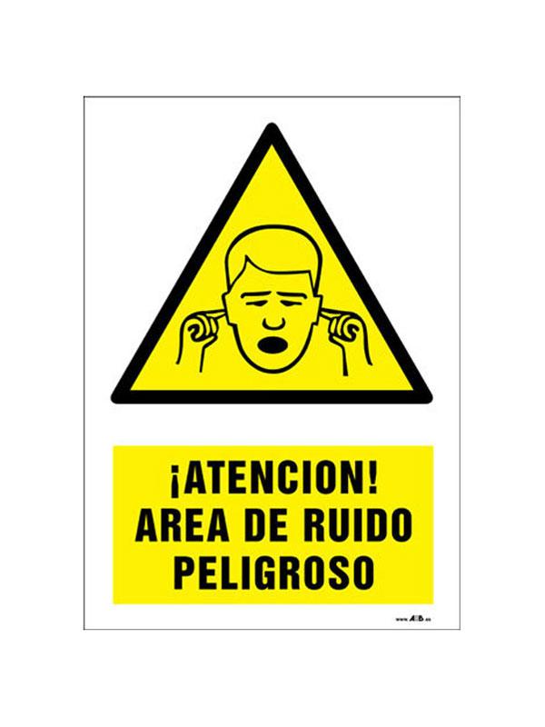 SEÑAL AREA RUÍDO PELIGROSO REF. APR 392 DE 330X420