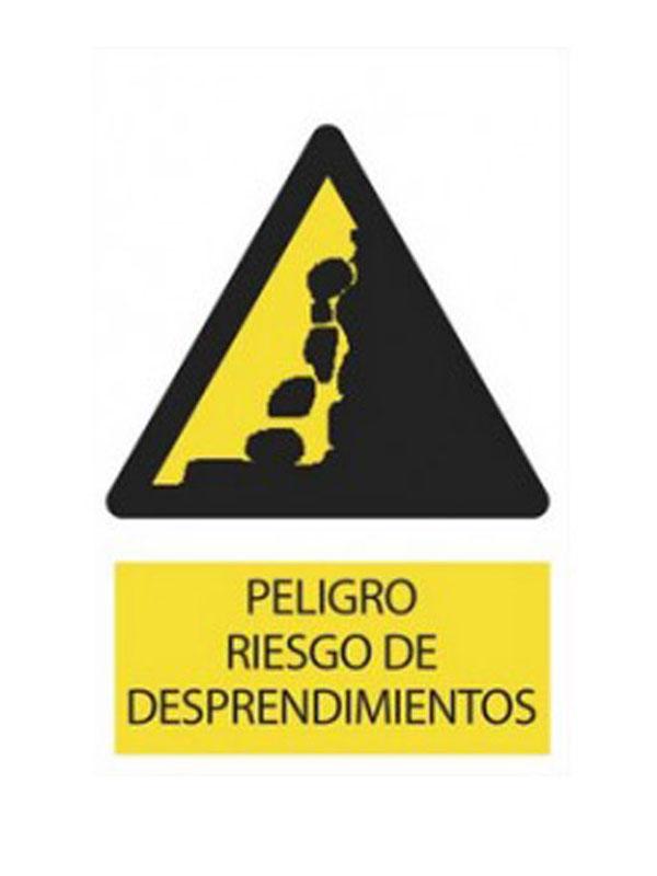SEÑAL PELIGRO DE DESPRENDIMIENTO REF. APR 326 DE 300X420