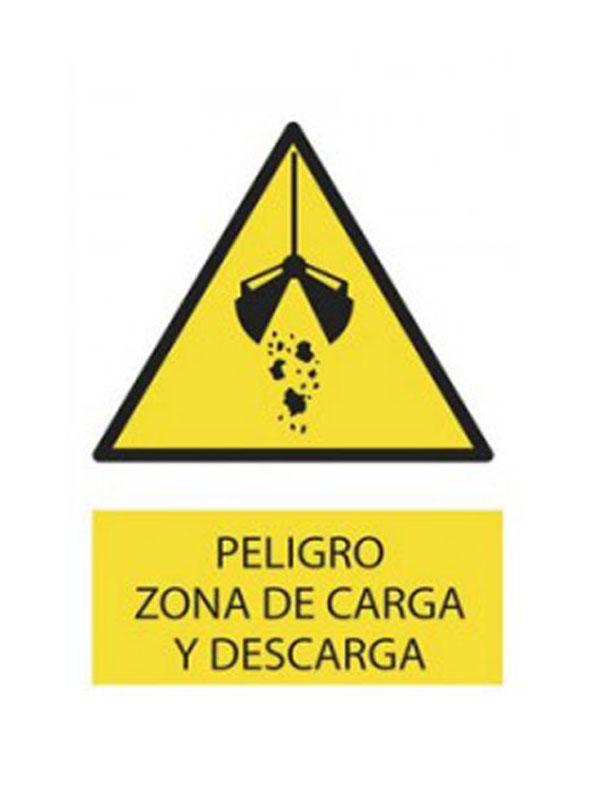 SEÑAL PELIGRO ZONA DE CARGA Y DESCARGA REF. APR 403 DE 300X420