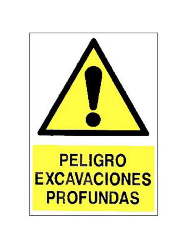 SEÑAL PELIGRO EXCAVACIONES REF. APR 293 DE 230X340