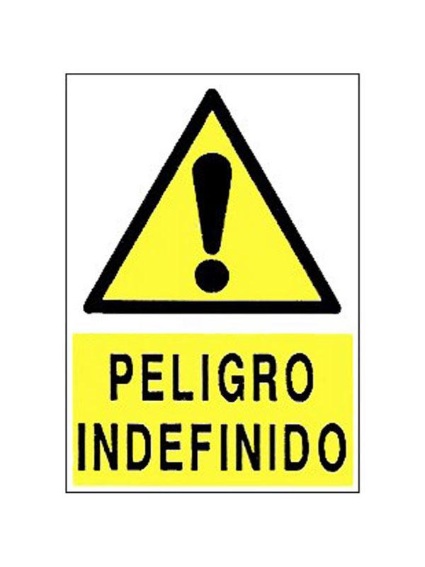 SEÑAL PELIGRO INDEFINIDO REF. APR 397 DE 230X340