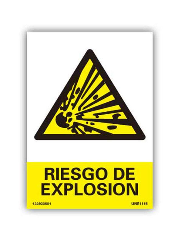 SEÑAL PELIGRO DE EXPLOSIÓN REF. APR244