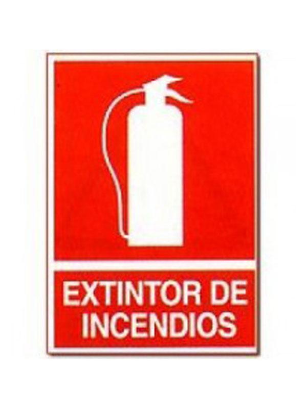 SEÑAL EXTINTOR DE INCENDIOS REF. CIR 121 DE 230X340