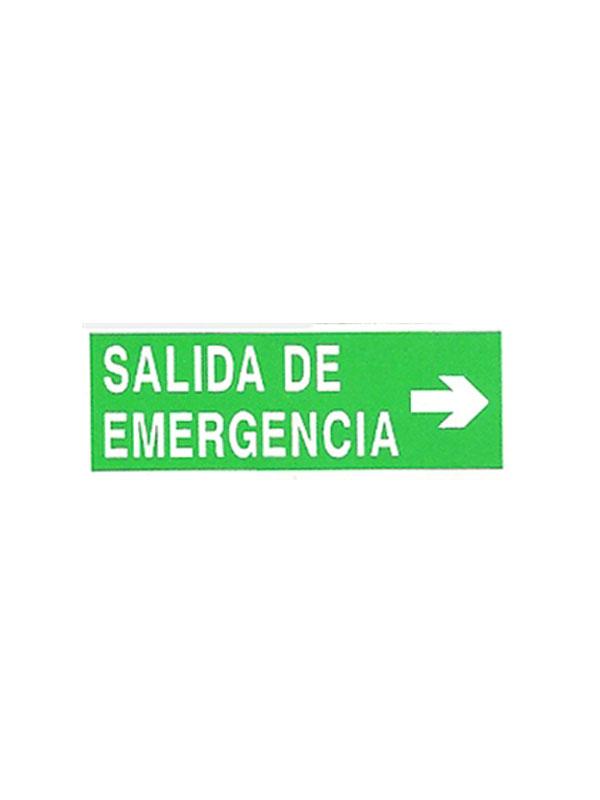 SALIDA EMERGENCIA CON FLECHA DERECHA REF. ESH 728 DE 210X420