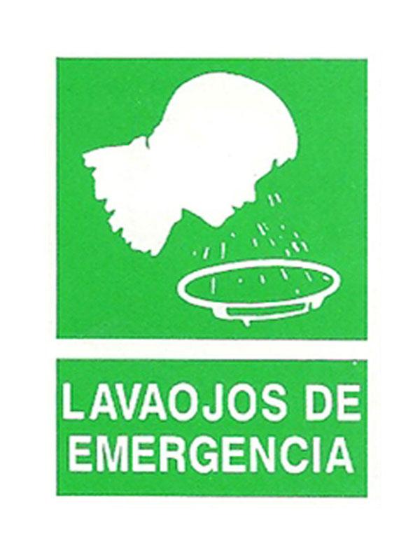 SEÑAL LAVAOJOS DE EMERGENCIA REF. ESR 812 DE 170X250