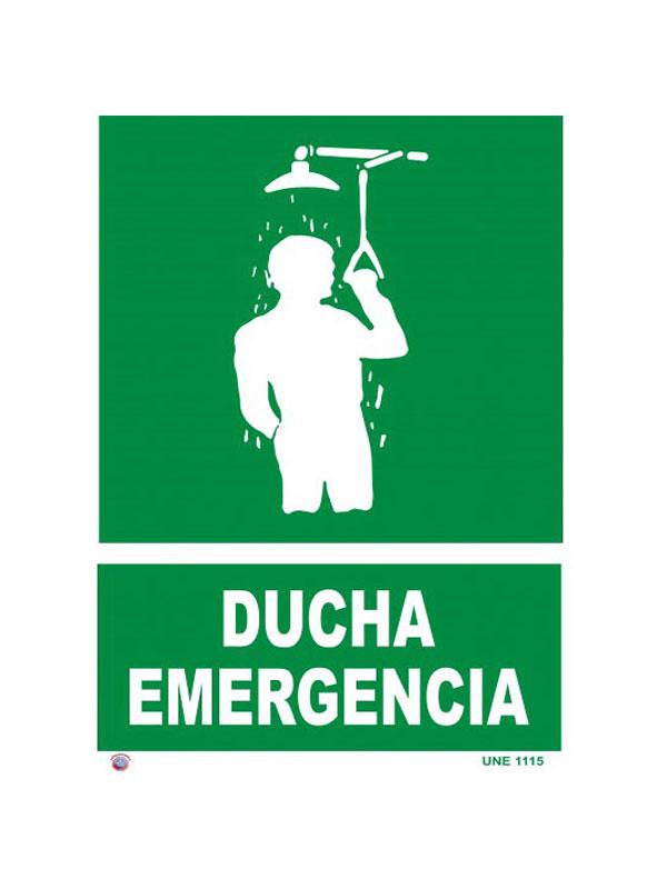 SEÑAL DUCHA DE EMERGENCIA REF. ESR 813 DE 170X250
