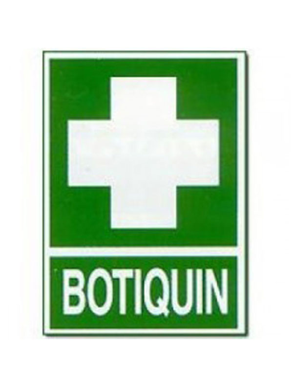 SEÑAL BOTIQUÍN REF. ESR 801 DE 297X210
