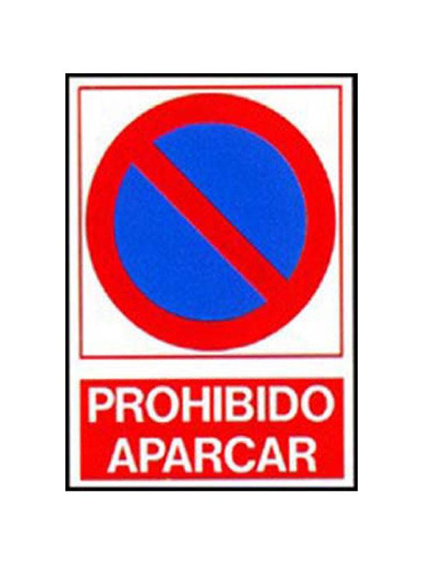 SEÑAL PROHIBIDO APARCAR REF. PRR 616 DE 230X340
