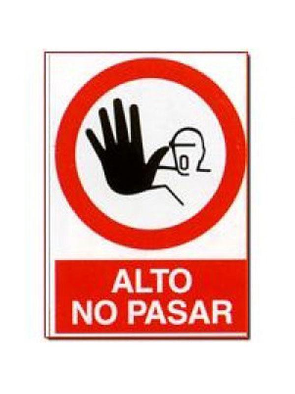 SEÑAL ALTO NO PASAR REF. PR 520