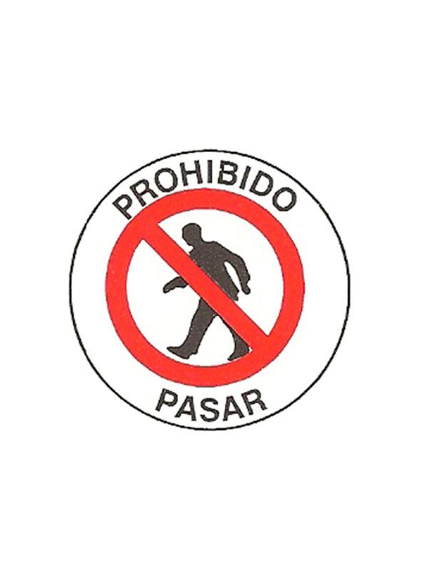 SEÑAL PROBIHIDO PASAR REF. PR 530