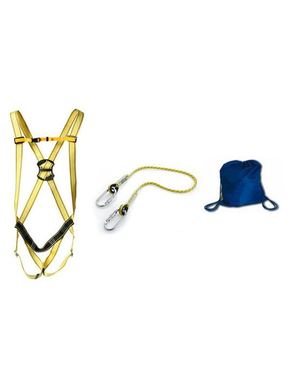 Arnés de trabajo mod. ancares con cuerda de 1.5m y bolsa ead ref. 80050-80105