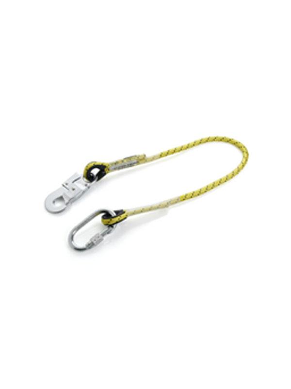Cuerda de seguridad de 1.5m con dos mosquetones ref. 80105-80112