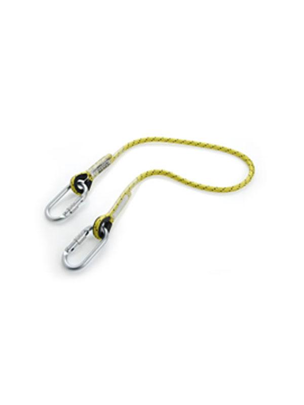 Cuerda de seguridad de 1m con dos mosquetones ref.  80103 - 80112