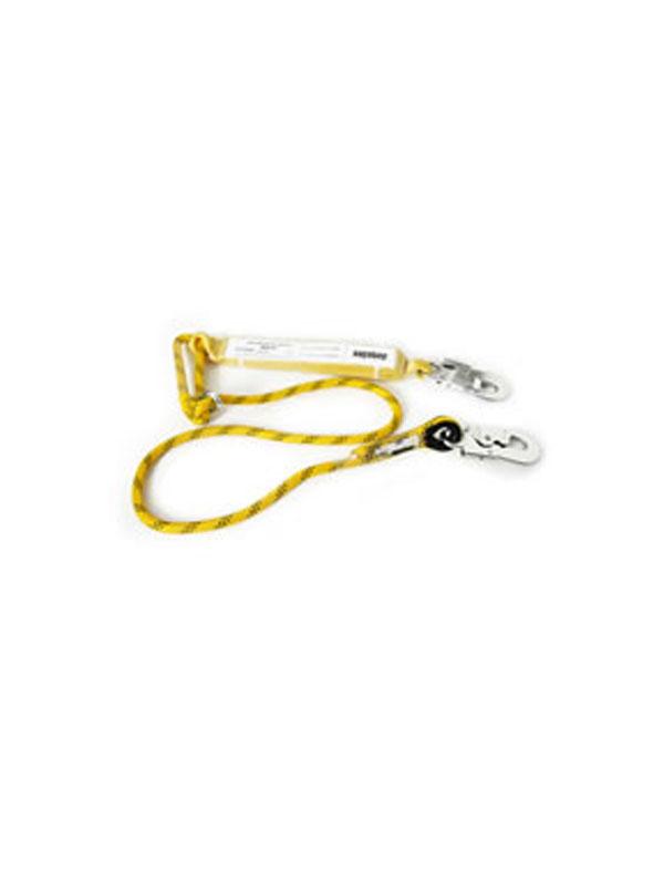 Absorbedor+cuerda de1,5m con dos mosquetones  ref. 80215
