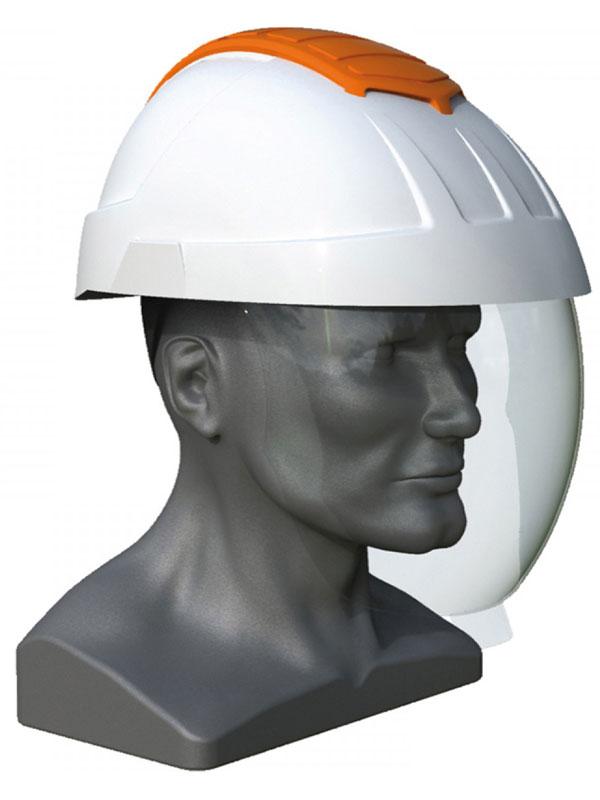 Casco de trabajo blanco con arco electrico mod.en22emanb