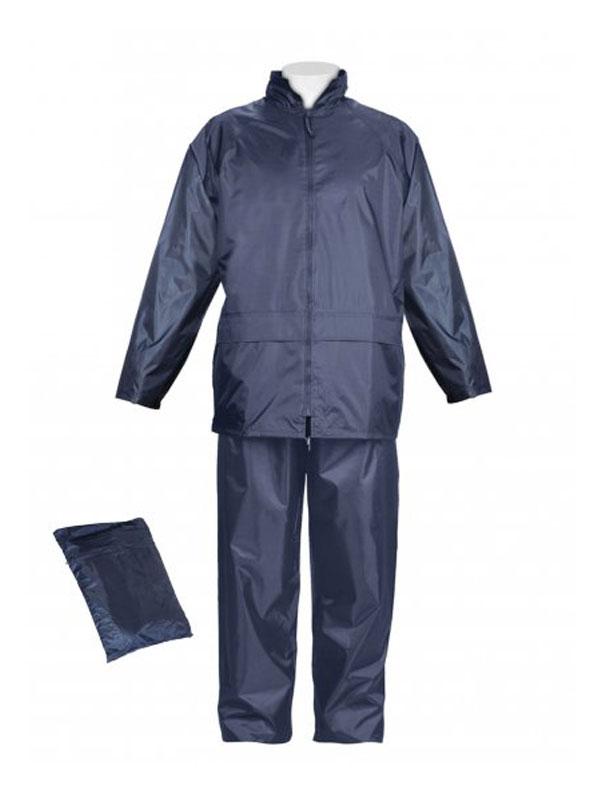 Conjunto nylon pvc azul