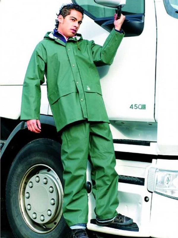 Pantalón impermeable verde mod. g-3