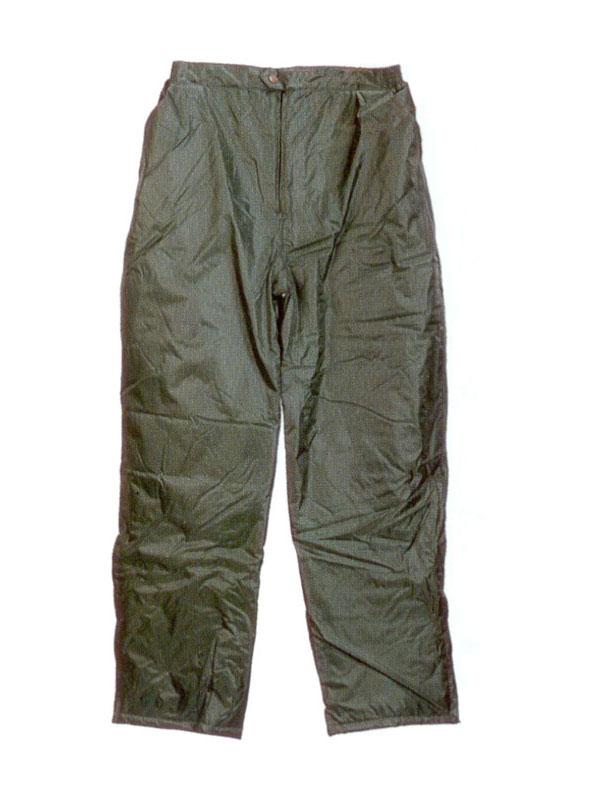 Pantalón impermeable de nylon pvc verde 461120